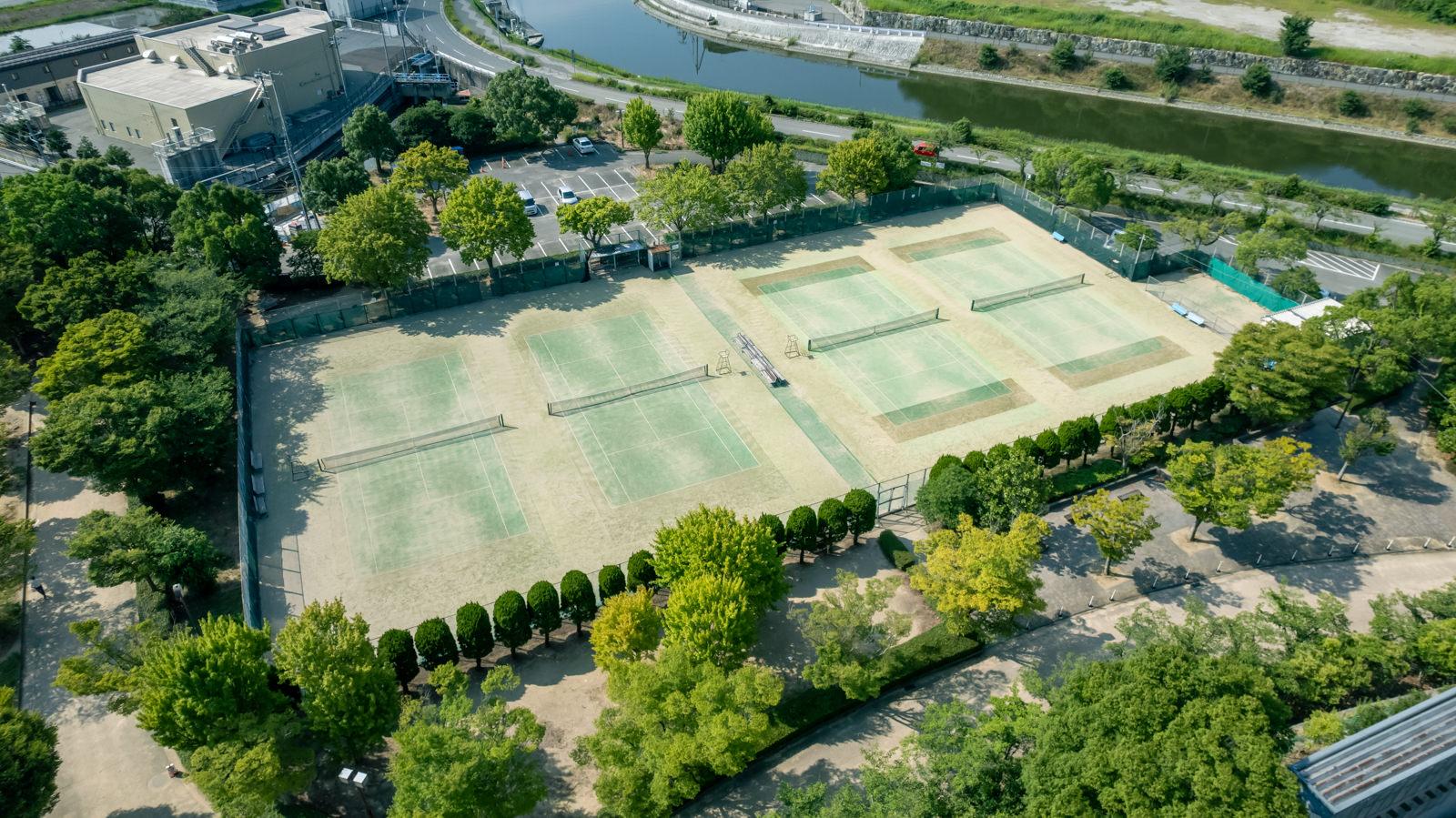 高砂市テニスコート